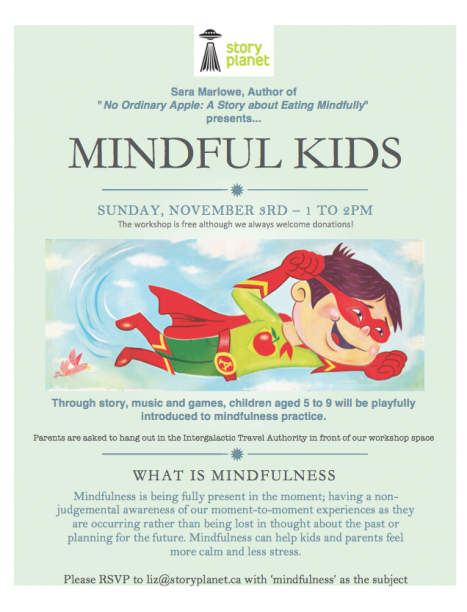Upcoming Events Mindful Kids | Story Planet