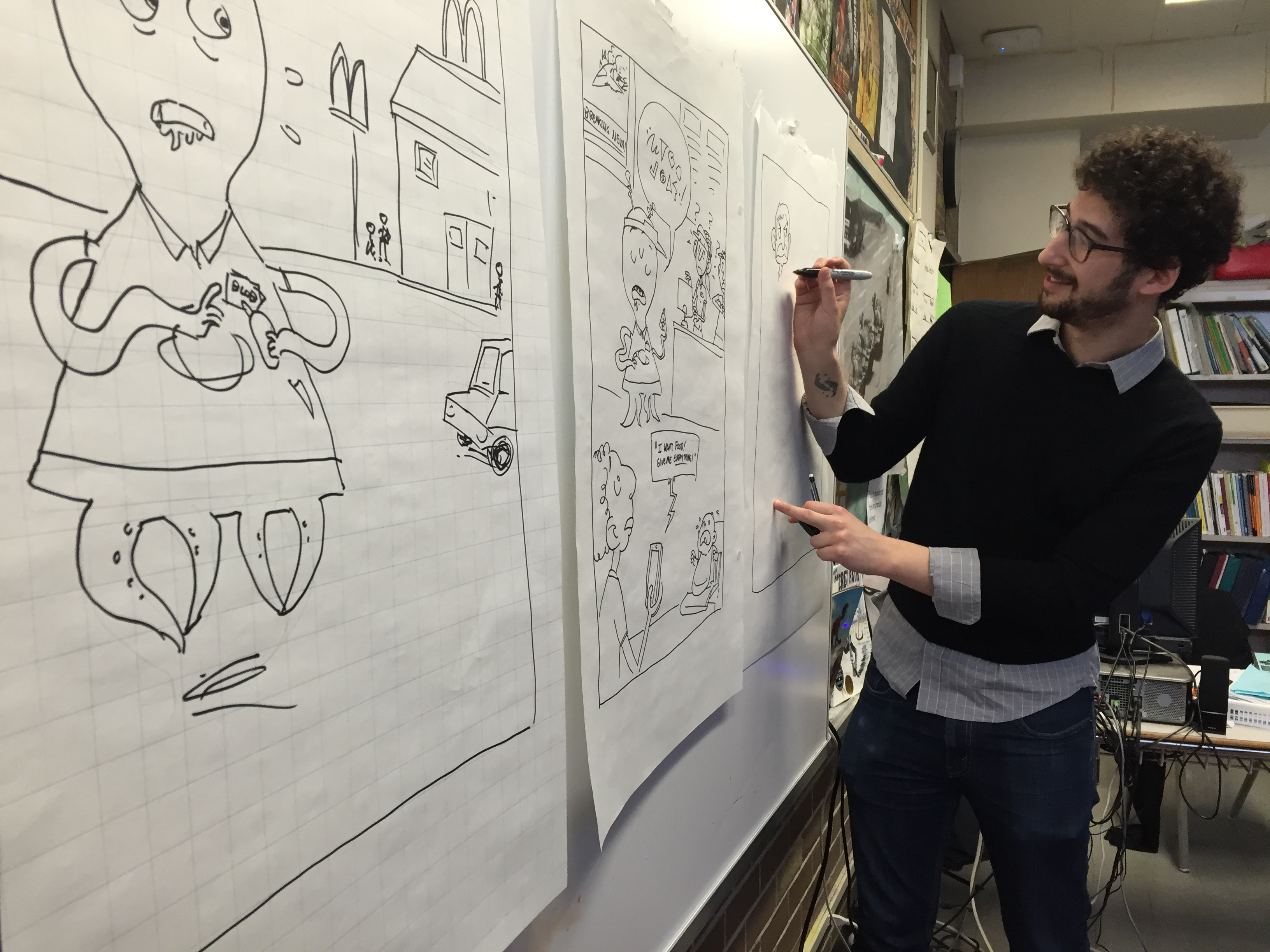 The Students Learned All Aboutic Books And Told Their Stories In True  Cartoon Style! More Toe…