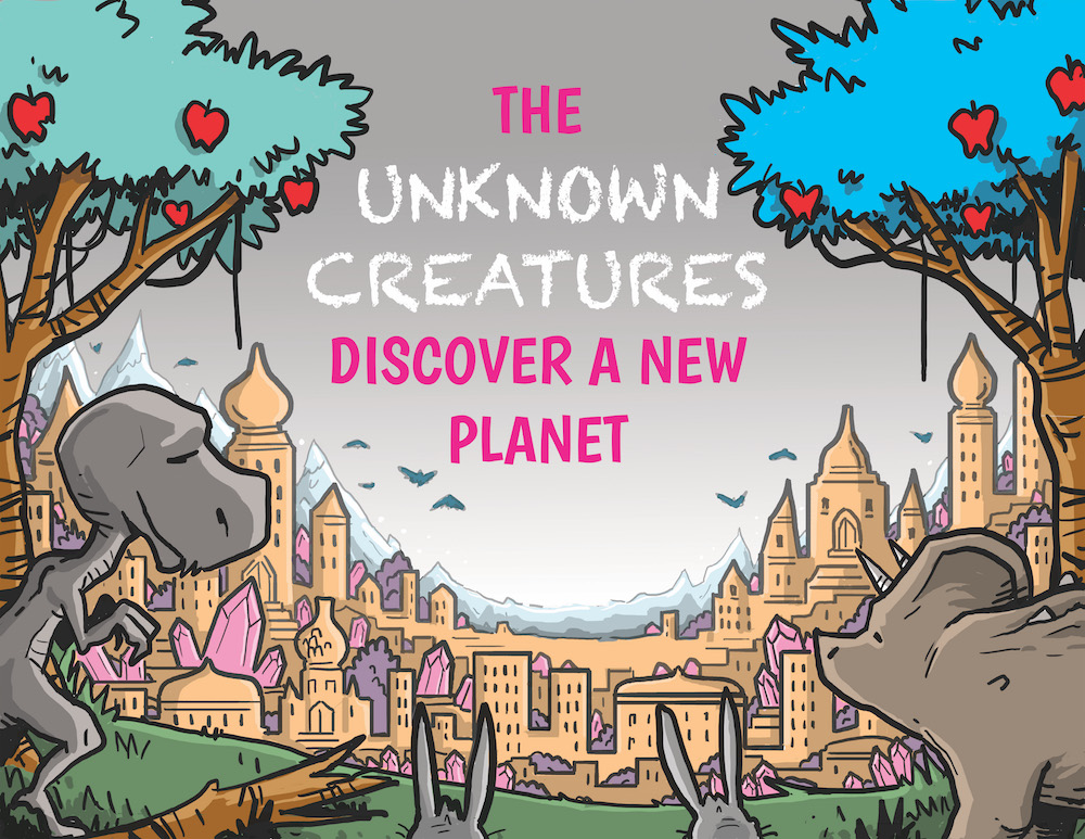 """The Unknown Creatures Discover a New Planet"" by Ms Grewal's Class"