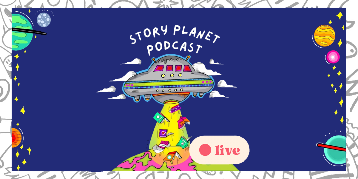 Story Planet Podcast is LIVE!